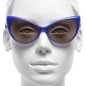 Tom Ford Accessories - TOM FORD Blue Cat Eye Injected Sunglasses