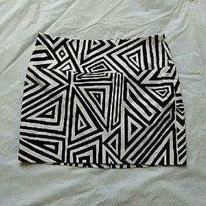 Express Dresses & Skirts - Express Design Studio Graphic Print Skirt nwt