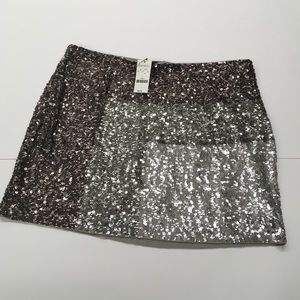 NWT Express Sequined Skirt