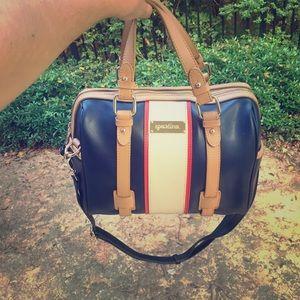 spartina 449 Handbags - Spartina 449 boutique leather navy