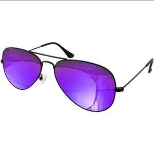 AQS Accessories - AQS purple aviators