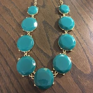 Green/Teal Statement Necklace *SALE**