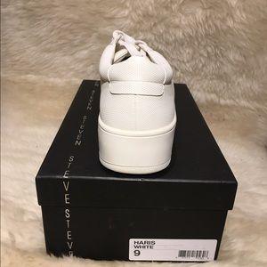 24d39a97700 Steven by Steve Madden Shoes - STEVEN by Steve Madden Wht Haris Platform  Sneakers