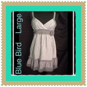 Blue Bird Dresses & Skirts - Boutique  / Lovely Gray Dress / Adjustable Straps