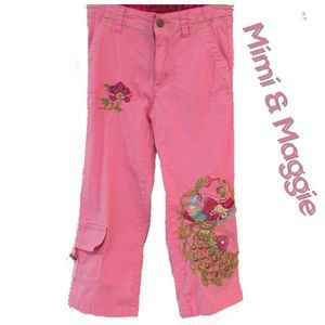 Mimi & Maggie Other - Mimi & Maggie embroidered cotton pants