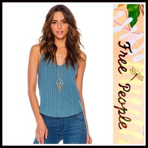 ❗1-HOUR SALE❗FREE PEOPLE Tank Top Ribbed Tee