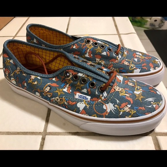 30891026c4f550 Vans Toy Story Authentic Woody Shoes