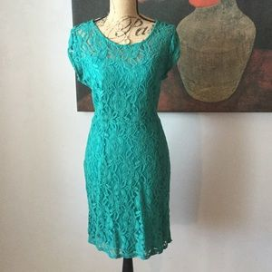 Washed lace dress. Perfect for the holidays.