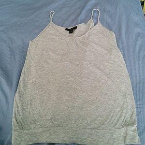 EXPRESS gray tank top