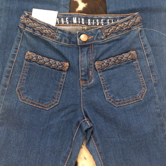 50% off Cotton On Denim - Cotton On Midrise Flare Jeans from ...