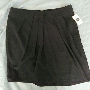 Gap navy mini skirt