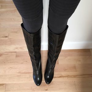 Studio Paolo Shoes - Black knee high boots