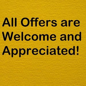 Other - Thankful for Offers!