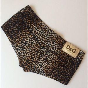 D&G Pants - 🆕 D&G Dolce Gabbana Micro Shorts