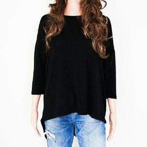 Tops - Black Knit Top