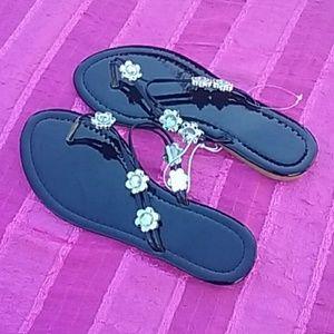 Cute Bling Flip Flops
