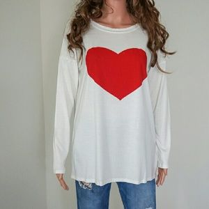 Tops - Valentines Heart Top