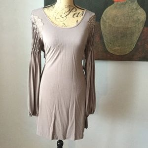 Stunning dark taupe dress by free people