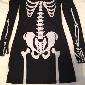 Dresses & Skirts - NWOT Skeleton babe - Halloween costume