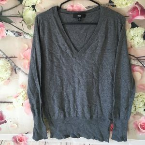 Mossimo Black Sweaters - V Neck Sweater