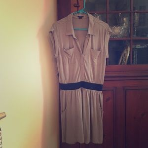 Theory casual dress with pockets