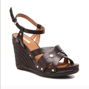 Geox Shoes - Geox brown wedges