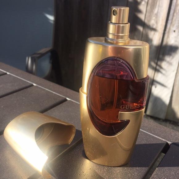 Guess Makeup Discontinued Gold Perfume 25 Oz Size Poshmark