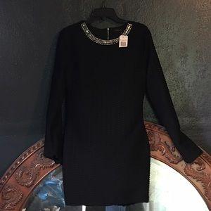 ENDLESS ROSE LITTLE BLACK DRESS SIZE L NWT