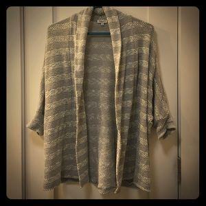 Slouchy Splendid Short Sleeve Sweater