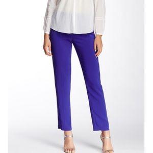 Rebecca Taylor Pants - Rebecca Taylor violet suiting pants Sz 4 Nwt
