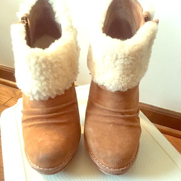 338a89859f9 UGG Georgette heeled booties