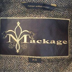 ee9fea30d1ebe Mackage Jackets & Coats - Mackage camo tweed jacket w/ fox fur hood leather