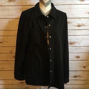 Josephine Chaus Jackets & Blazers - Josephine Chaus Black Jacket - 2X
