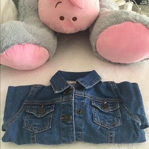 Carter's Other - NWOT Carter's jeans jacket ( size 18 month )