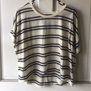 Tops - Striped Boxy Top