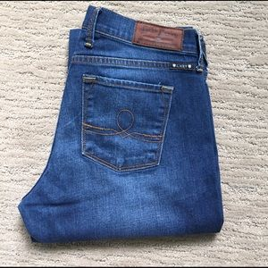 80% OFF) LUCKY BRAND SOFIA BOOTCUT ANKLE JEANS 28