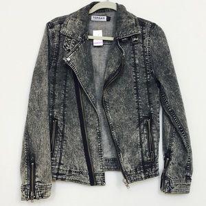 Topman Other - Acid Wash Jacket