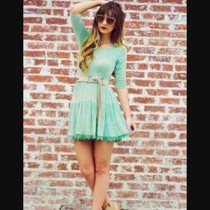 JEM Dresses & Skirts - Green Tie Dye Dress