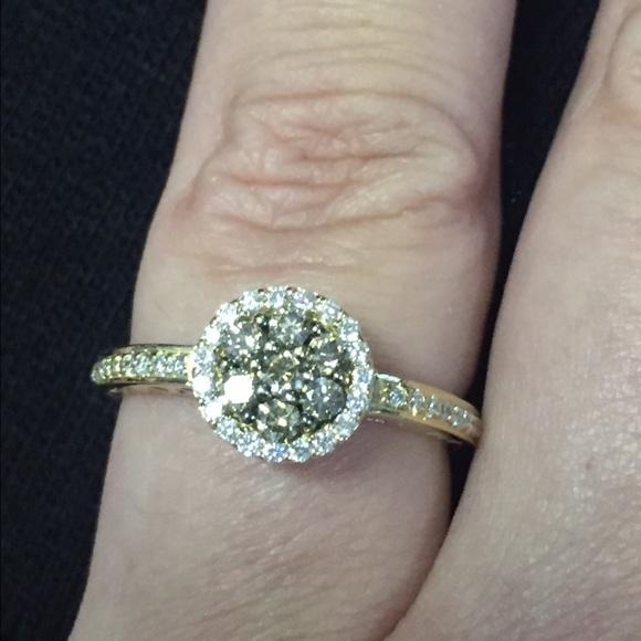 be35eccd1 Le Vian Jewelry   Chocolate Diamond Ring In 14k Honey Gold   Poshmark