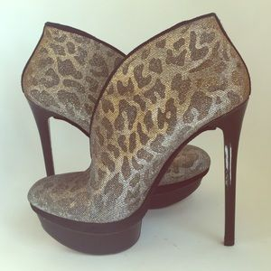 Brian Atwood Shoes - Brian Atwood Fortosa Animal Print  Bootie