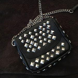 Handbags - Cross body studded bag