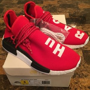 Adidas NMD Human Race Pharrell Williams Hu Red Size 8.5