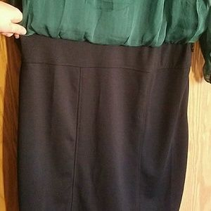 The Limited Dresses - NWT The Limited 2 in 1 Green Dress sz 14