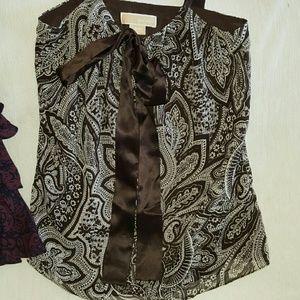 Michael kors sleeveless Dress blouse NWOT