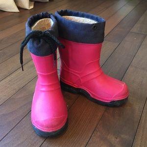 Kamik Other - Kamik fuschia pink girls boots sz 9
