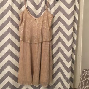 Gold guess cocktail dress size 10