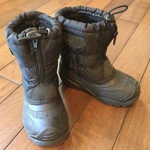 Kamik Other - Kamik black girls/boys boots sz 8