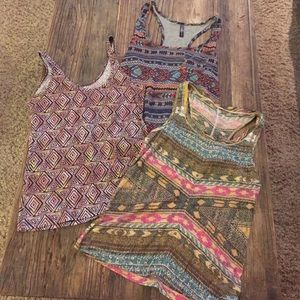 Urban Outfitters Tops - Tribal tank top bundle