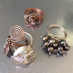 Jewelry - Handmade ring lot