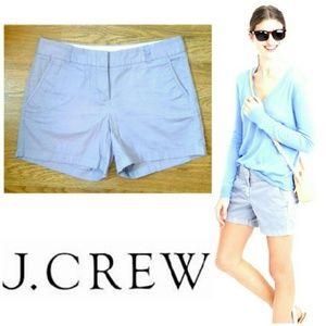"J. Crew Pants - 5"" Chino J. CREW perwinkle-blue shorts"